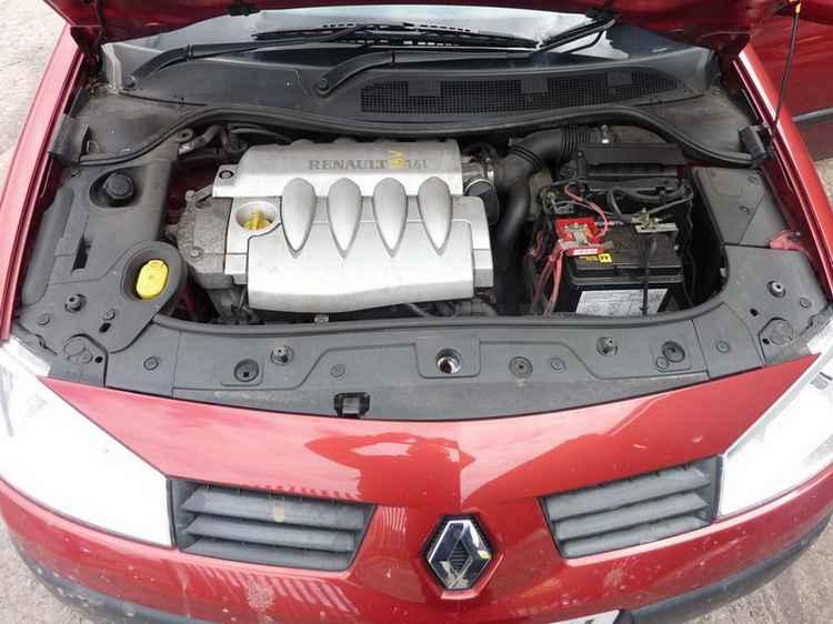 Двигатель Renault Megane II