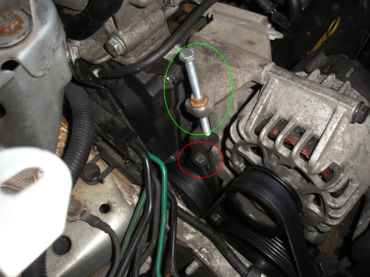 Замена ремня генератора на Renault Megane