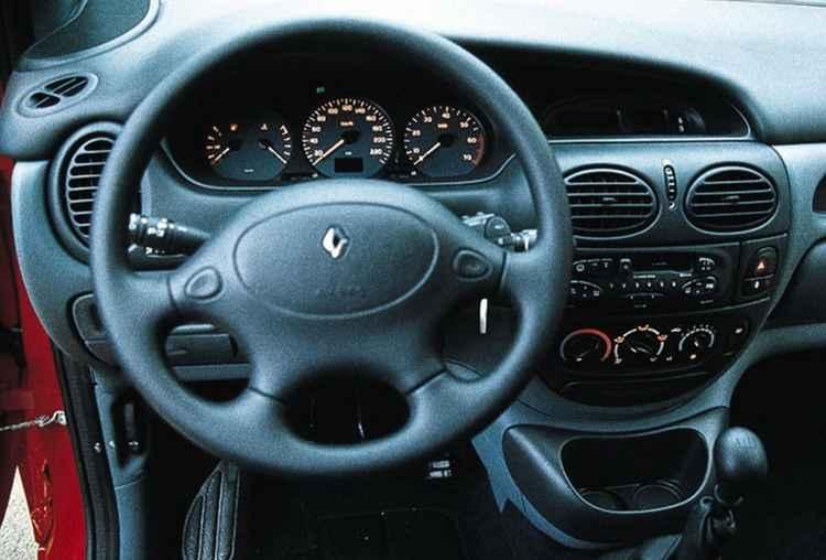 Салон Renault Megane