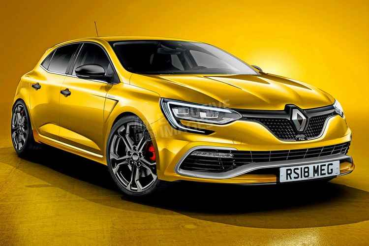 Renault Megane RS - концепт-арт