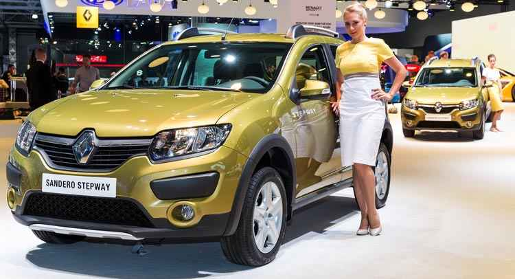 Renault Sandero Stepway в автосалоне