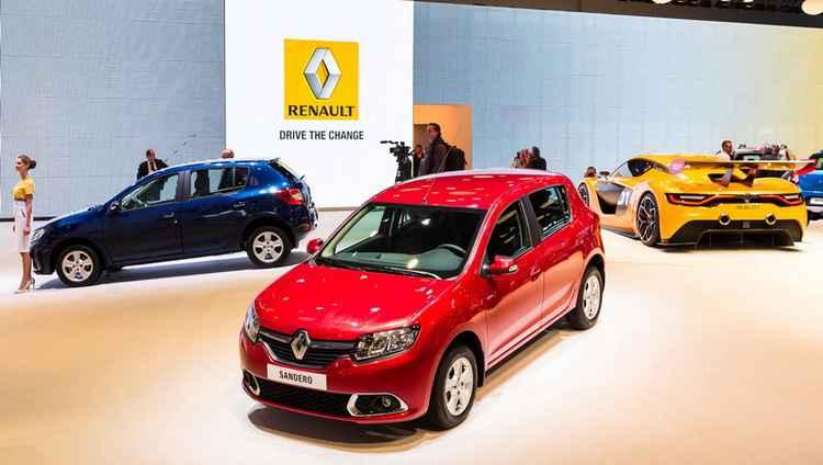 Выставка автомобилей Renault