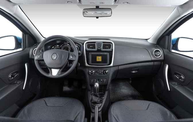 Салон Renault Sandero Stepway