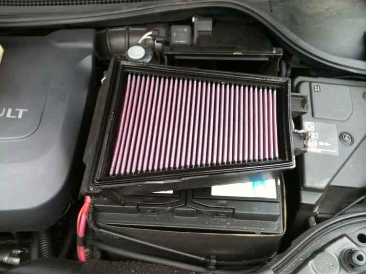 Воздушный фильтр Renault Megane 2