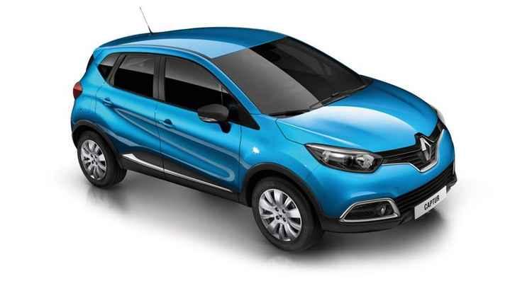 Европейский Renault Captur