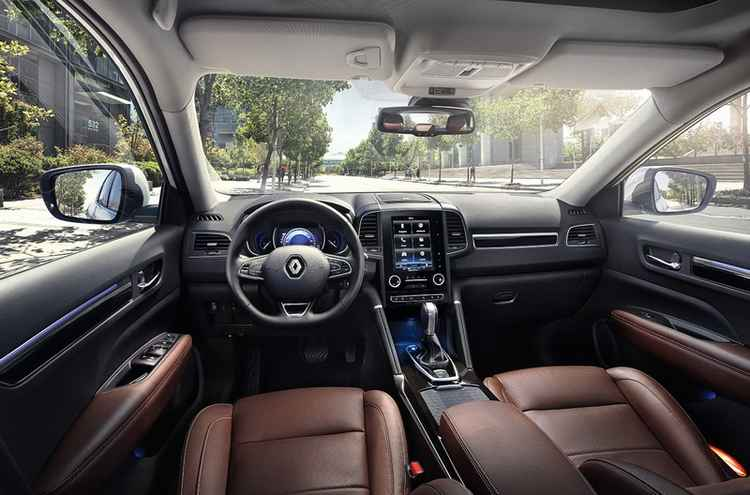 Салон нового Renault Koleos