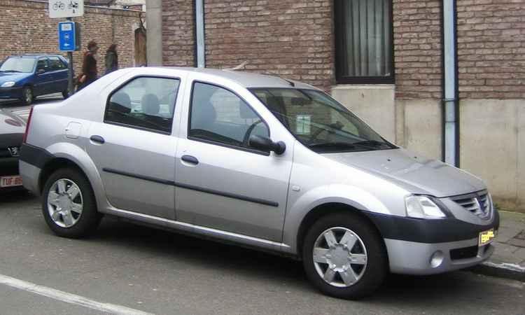 Крылья на Renault Logan