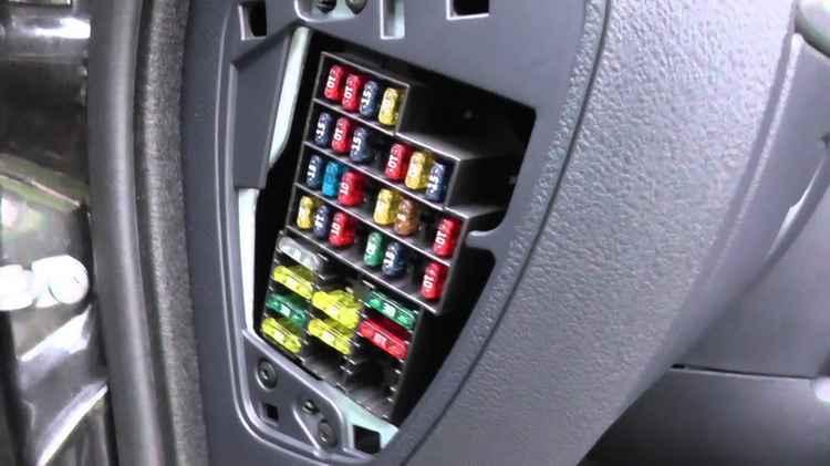 Блок предохранителей Renault Sandero