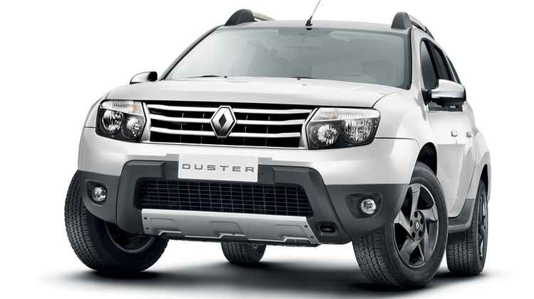 Renault Duster спереди