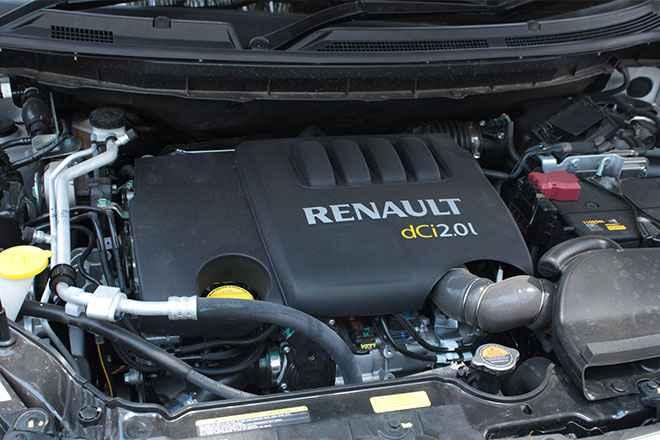 Рено Колеос с дизельным двигателем
