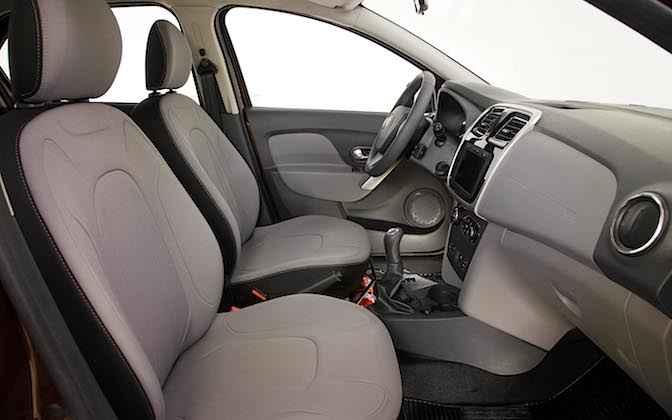 Сиденья в новом Renault Logan