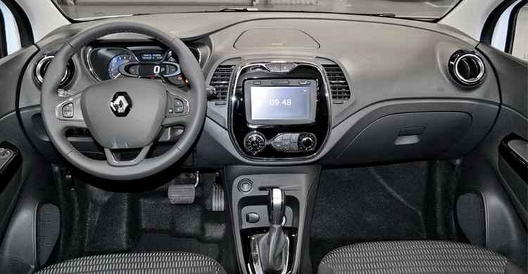 Интерьер Renault Kaptur
