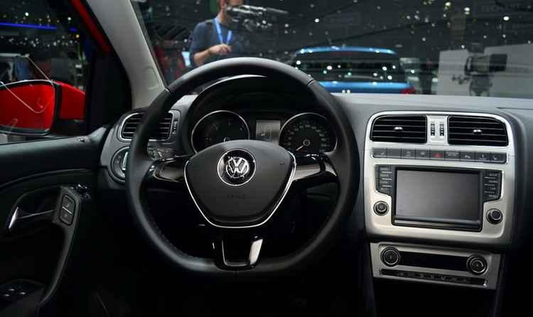 Интерьер VW Polo