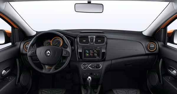 Интерьер Renault Sandero Stepway 2