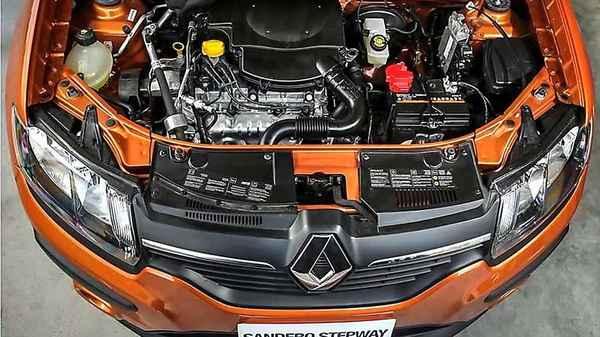 Двигатель Рено Сандеро Степвей 2015