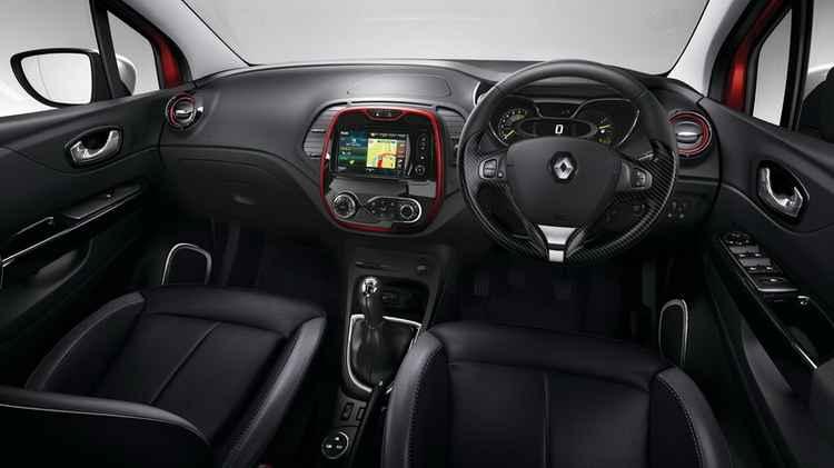 Салон Renault Captur