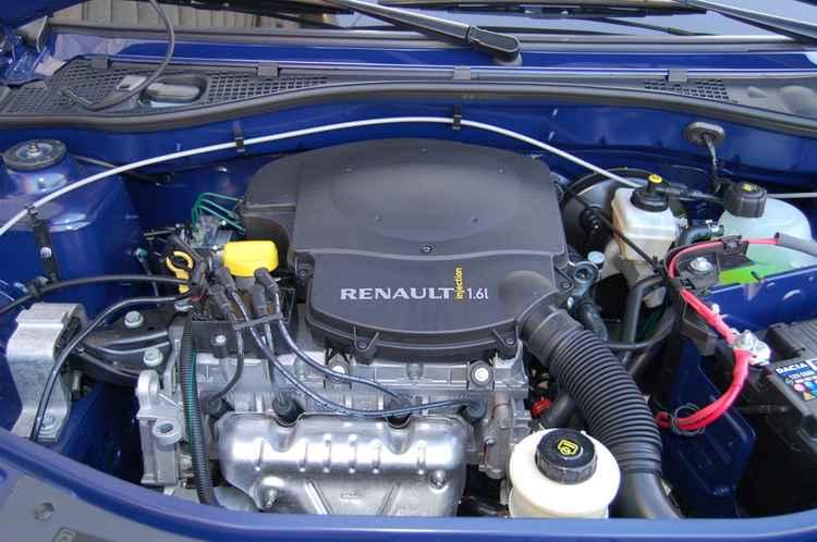 Двигатель 1.6л Renault Logan