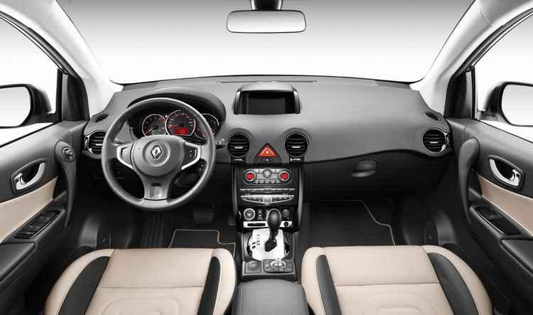 Салон Renault Koleos