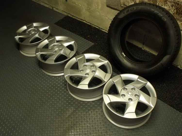 Летние колеса для Рено Логан