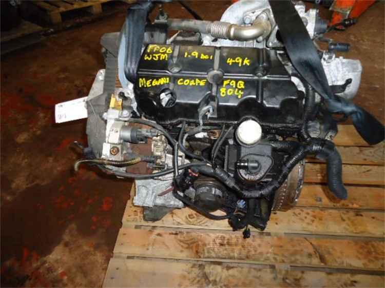 Двигатель в сборе Рено Меган