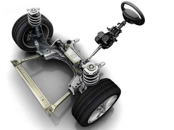 Передняя подвеска Renault Megane