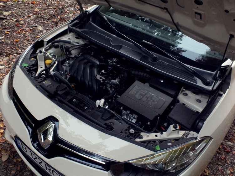 Renault Fluence двигатель