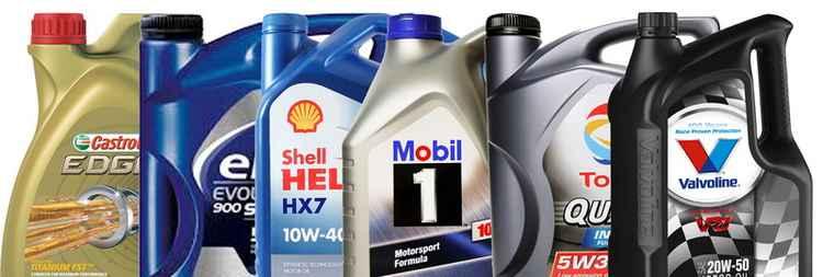 Моторное масло с разными параметрами