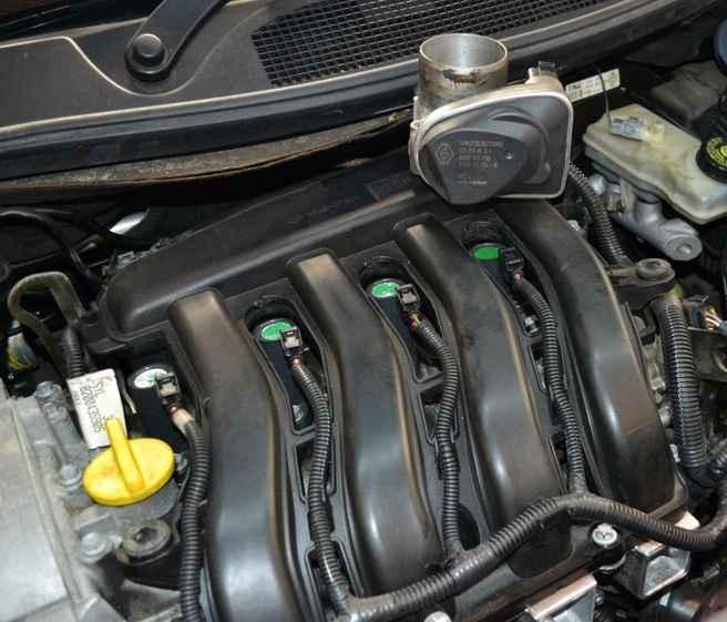 Двигатель Renault Megane
