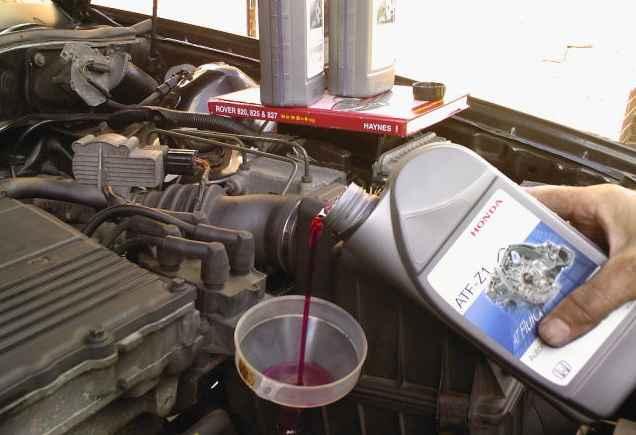 Замена масла в АКПП от Honda