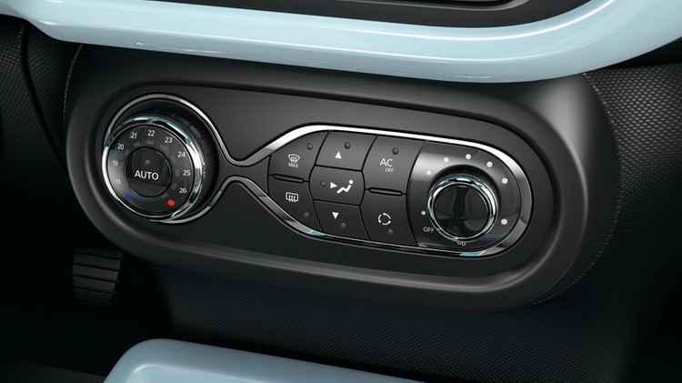 Управление кондиционером в Renault