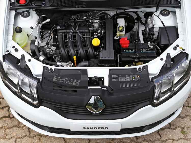 Двигатель Рено Логан 2