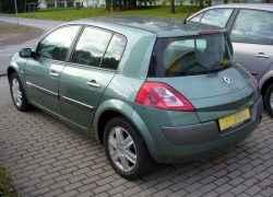 Renault Megane II на стандартных колесах