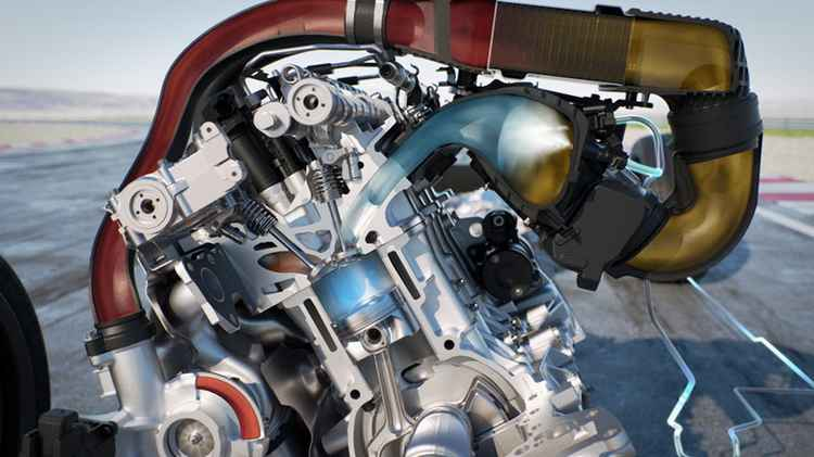 Система впрыска воды в двигатель
