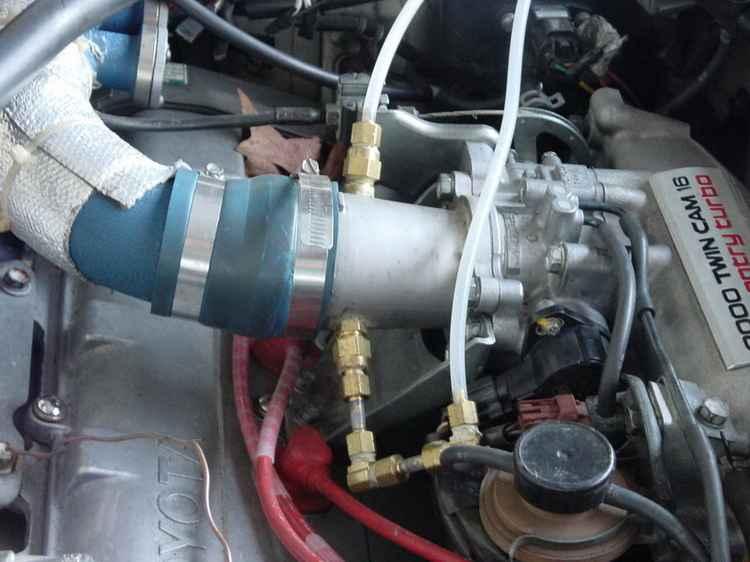 Модернизированная система впрыска воды в двигатель