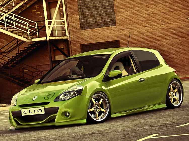 Renault Clio тюнинг