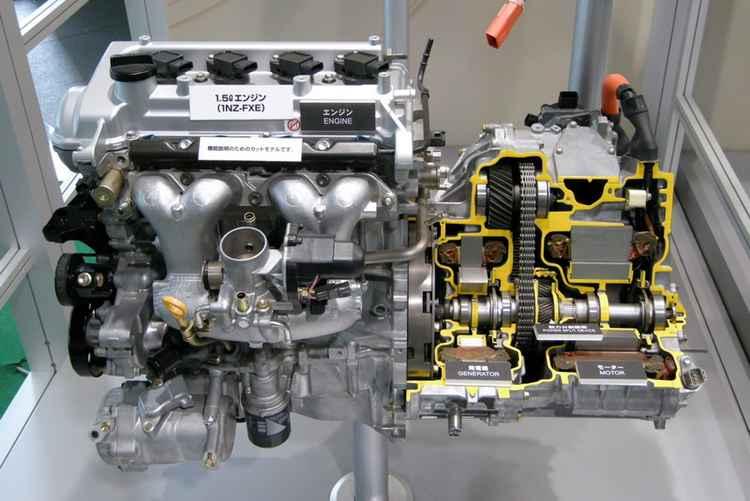 Гибридный двигатель от Toyota