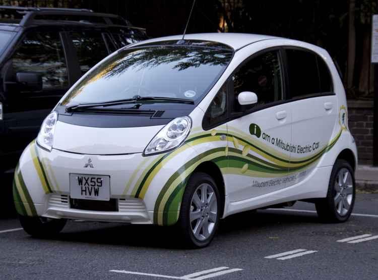Mitsubishi с электродвигателем
