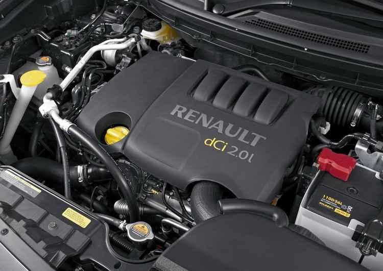 Двигатель Рено 2.0l