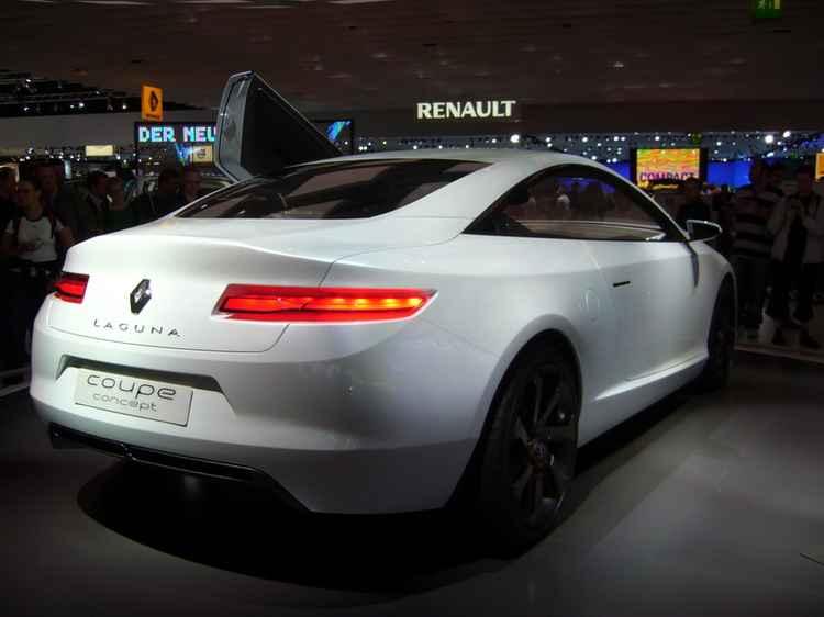 Renault Laguna купе