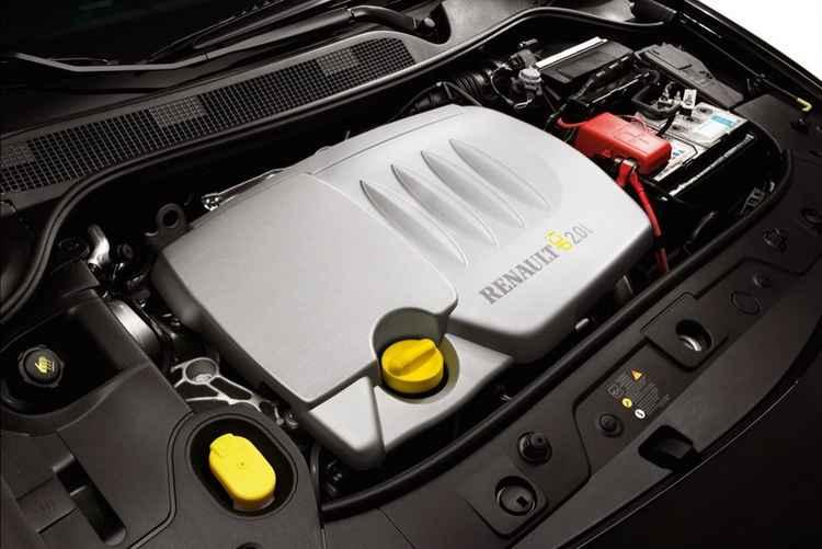 Двигатель DCI 2.0l Renault Megane