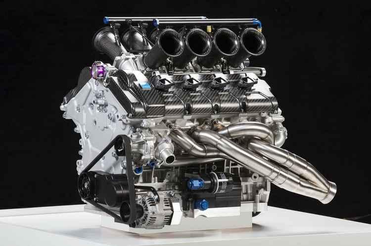 Двигатель Volvo V8