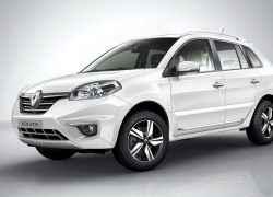Renault Koleos белый