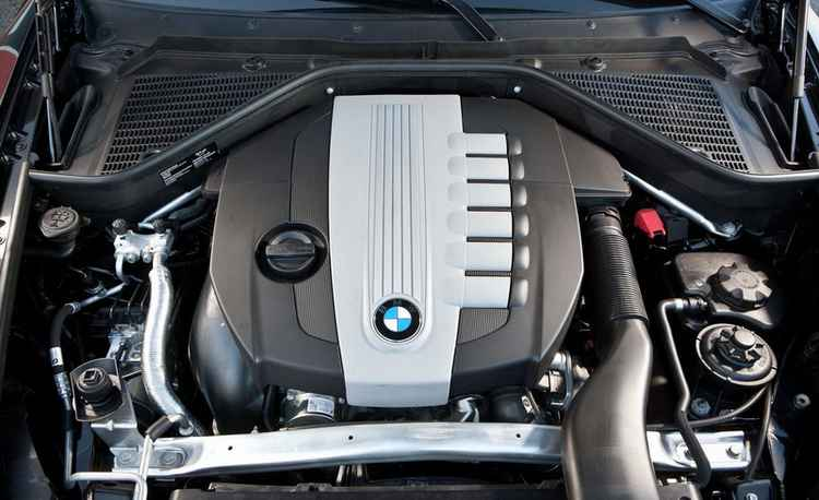 Дизельный двигатель BMW X5