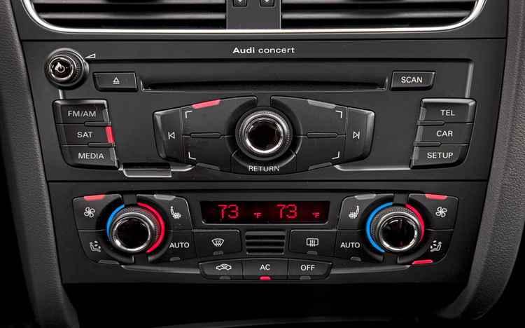 Управление климат контролем Audi A4