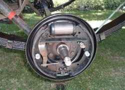 Гидравлический барабанный тормоз