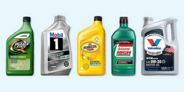 Различные моторные масла