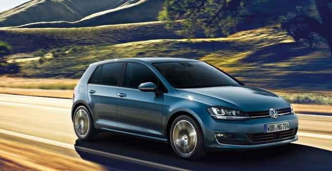 VW Golf на летней резине