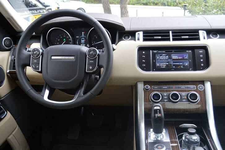 Интерьер Range Rover
