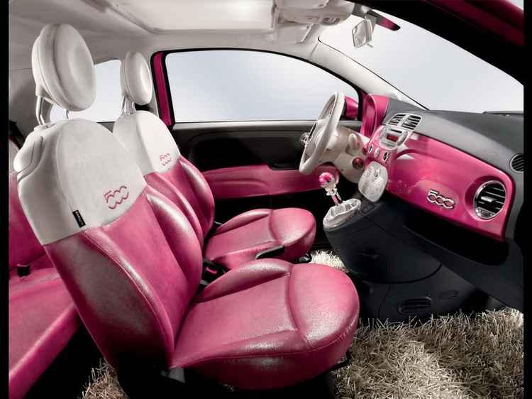 Интерьер Fiat 500