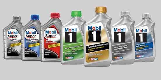 Линейка моторных масел Mobil1